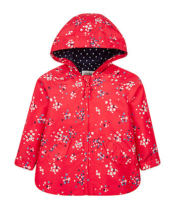 Mothercare Red Floral Mac