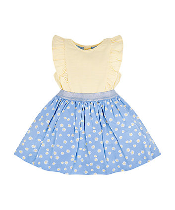 Mothercare Daisy Stripe Twofer Dress