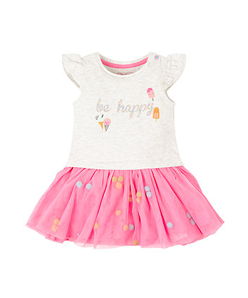 Mothercare Be Happy Tutu Dress