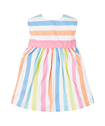 Mothercare Multicoloured Stripe Prom Dress