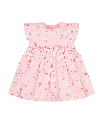Mothercare Pink Fruit Dress