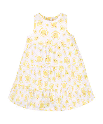 Mothercare Sunshine Tiered Dress
