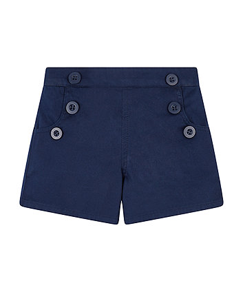Mothercare Navy Smart Shorts