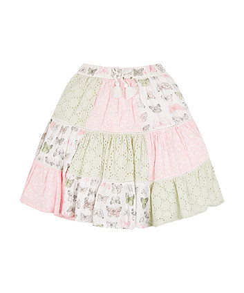 Mothercare Butterfly Patchwork Skirt