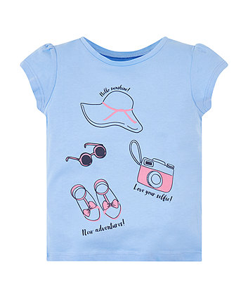 Mothercare Blue Adventure T-Shirt