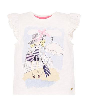 Mothercare Holiday Girl T-Shirt