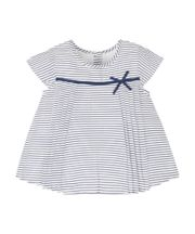 Mothercare Sailor Stripe Blouse With Bow