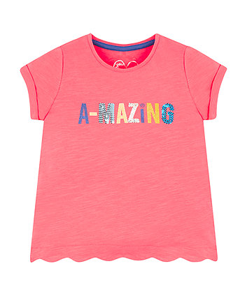 Mothercare Amazing Scalloped T-Shirt