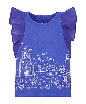 Mothercare Shiny Underwater T-Shirt
