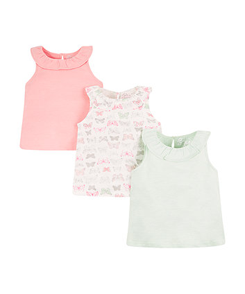 Butterfly Vests - 3 Pack