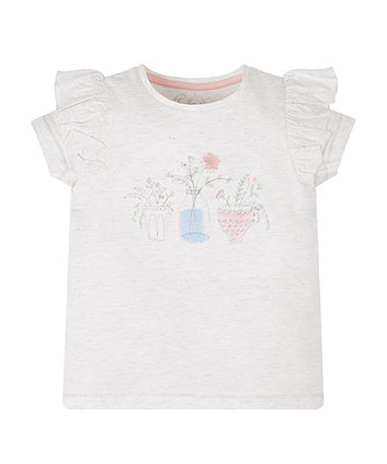 Mothercare Pink Stripe T-Shirt