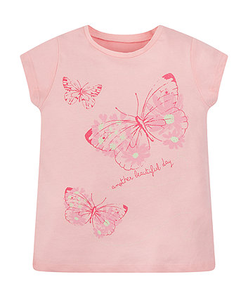 Mothercare Beautiful Butterfly T-Shirt