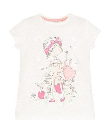 White Gardener T-Shirt