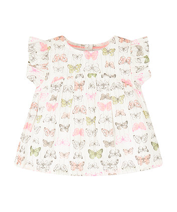 Mothercare Butterfly Blouse