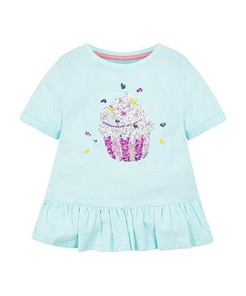 Mothercare Cupcake Peplum T-Shirt