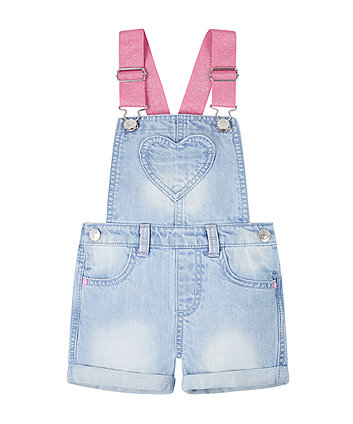 Mothercare Denim Bibshorts