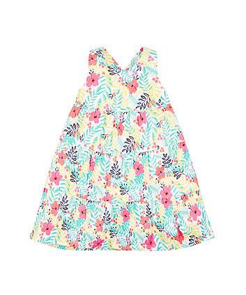 Mothercare Rainforest Tiered Dress
