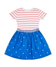 Stars And Stripes Twofer Dress