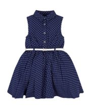 Mothercare Navy Polka Dot Dress