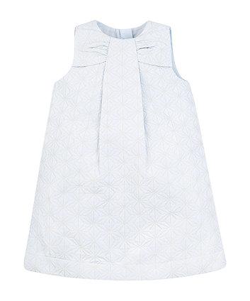 Geometric Jacquard Dress