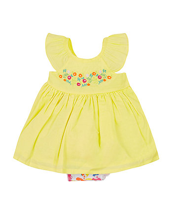 Mothercare Yellow Romper