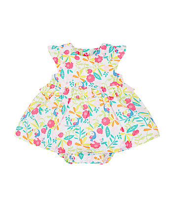 Mothercare Printed Romper Dress