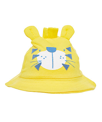 Yellow Novelty Lion Sunhat