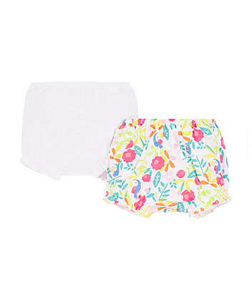 Mothercare Tropical Toucan Shorts - 2 Pack