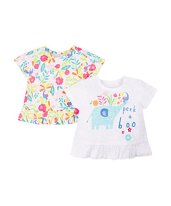 Mothercare Tropical Toucan T-Shirts - 2 Pack