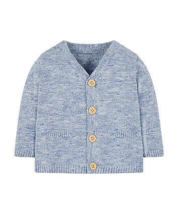 Mothercare Blue Cardigan