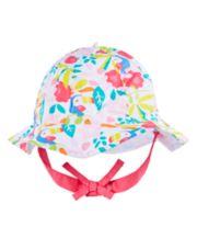 Floral Toucan Sun Hat