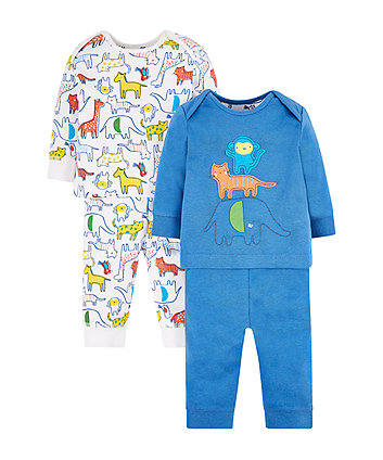 Safari Pyjamas - 2 Pack