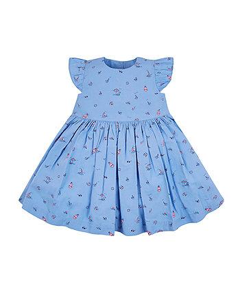 Mothercare Blue Beach Dress