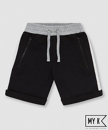 Mothercare My K Black Stripe Shorts