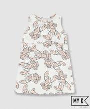 My K Lobster Jersey Dress