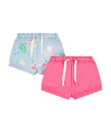 Tropical Shorts - 2 Pack