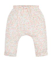 Floral Jersey Trousers
