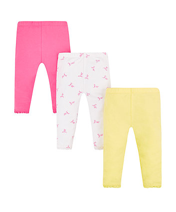 Mothercare Crop Leggings - 3 Pack