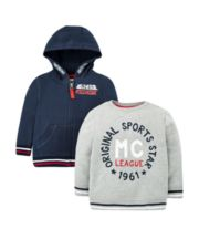 Sports Star Sweat Top And Hoodie