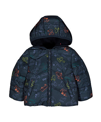 Mothercare Padded Truck Jacket