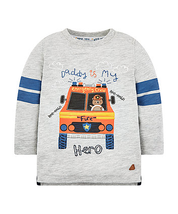 Mothercare Fire Engine T-Shirt