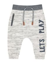 Grey Lets Play Joggers