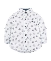 Grey Big Cat Shirt