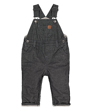 Mothercare Blue Cord Dungarees