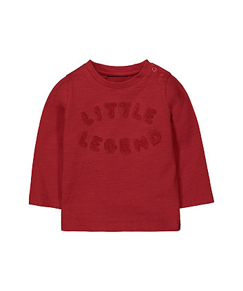 Mothercare Red Little Legend T-Shirt