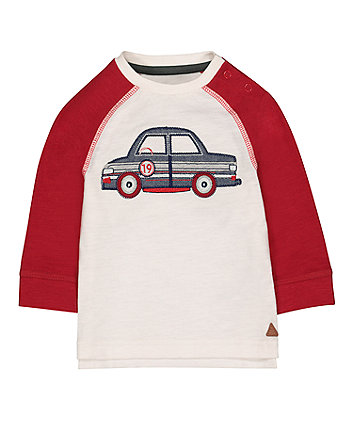 Red Car Raglan T-Shirt