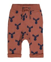 Mothercare Rust Moose Joggers