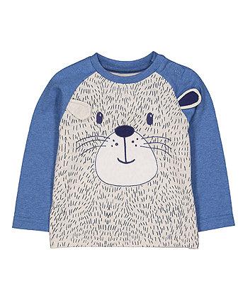 Mothercare Grey Bear T-Shirt