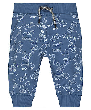 Mothercare Blue Truck Joggers