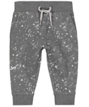 Grey Paint Splat Joggers